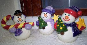ceramic-snowmen