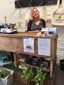 Elm Tree Farm shop volunteer, Ann