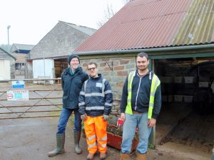 Trainees at Elm Tree Farm