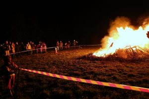 Bonfire night at Elm Tree Farm